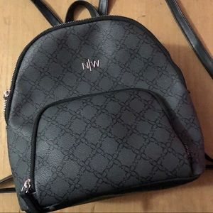 NINE WEST Gray Backpack